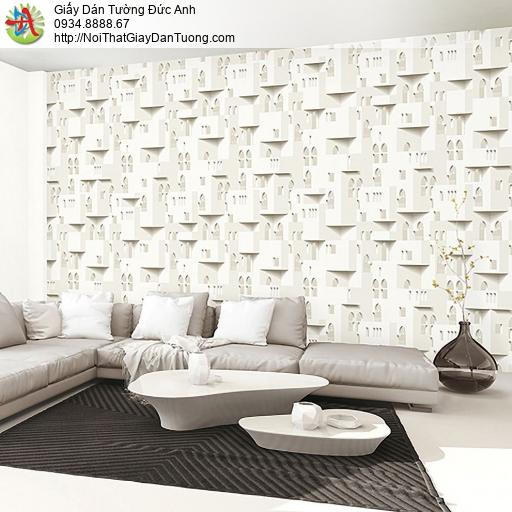 Casabene 2734-1, Giấy dán tường hoa văn họa tiết 3D mới hiện đại 2021