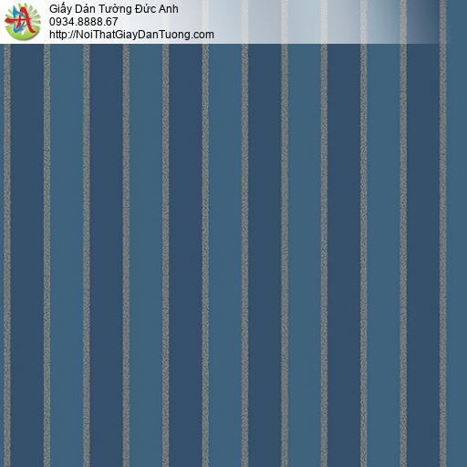 Casabene 2735-4, Giấy dán tường kẻ sọc màu xanh nước biển đậm