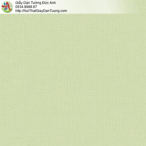 Casabene 2737-5, Giấy dán tường màu xanh lá cây, giấy gân đơn giản một màu hiện đại