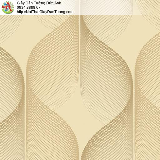 Casabene 2740-3, Giây dán tường hoa văn họa tiết uốn lượn sóng 3D hiện đại