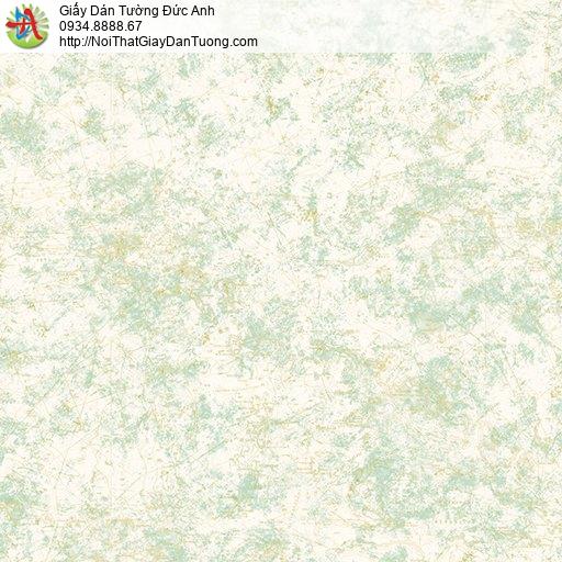 Giấy dán tường hoa văn họa tiết trừu tượng màu xanh lá cây, Happy Story 6800-1B