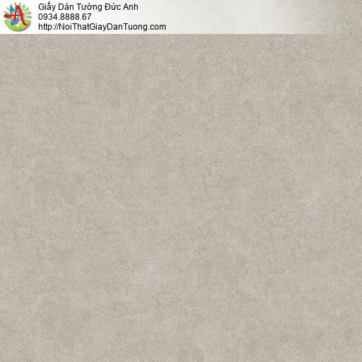 Albany 6802-3, Giấy dán tường mẫu đơn giản một màu nâu đất, giấy dán tường hiện đại