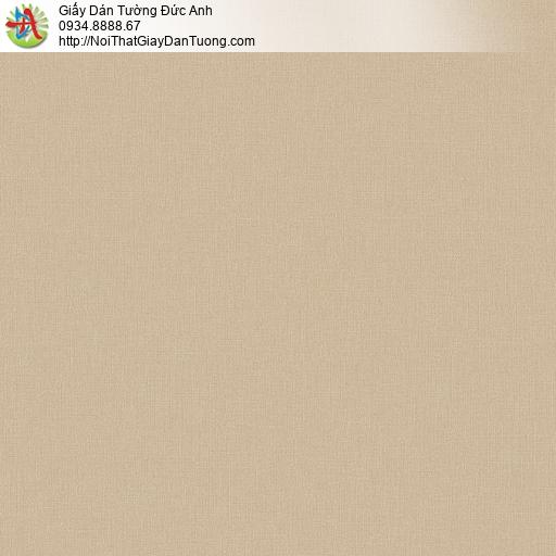 Albany 6805-3, Giấy dán tường màu vàng đồng, giấy gân trơn đơn giản một màu vàng