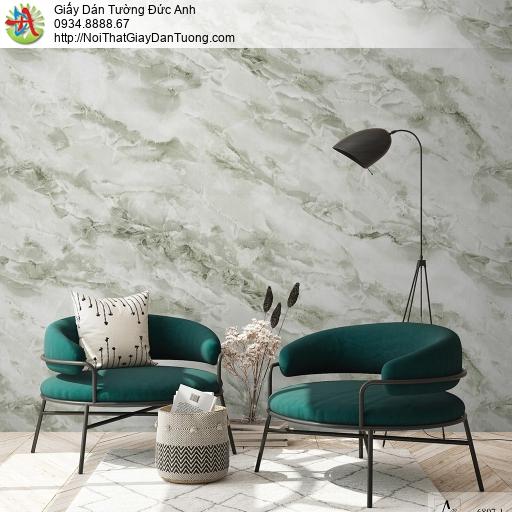 Albany 6807-1, Giấy dán tường giả đá granite, đá hoa cương, tự nhiên màu xanh rêu