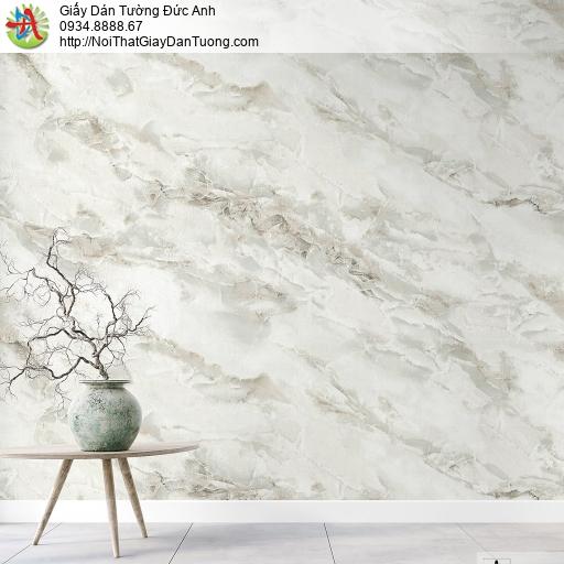 Albany 6807-2, Giấy dán tường giả đá marble, đá granite, đá tự nhiên màu xám trắng