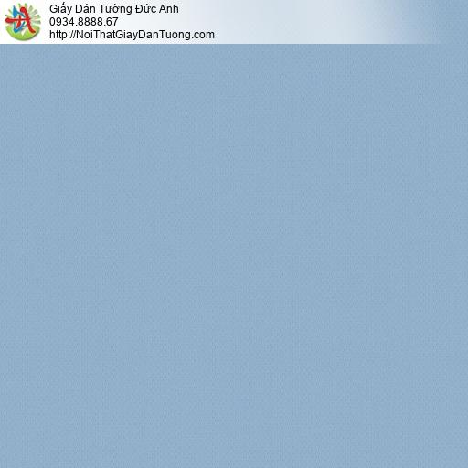 Albany 6810-7, Giấy dán tường đơn giản một màu xanh dương, xanh da trời, xanh nước biển