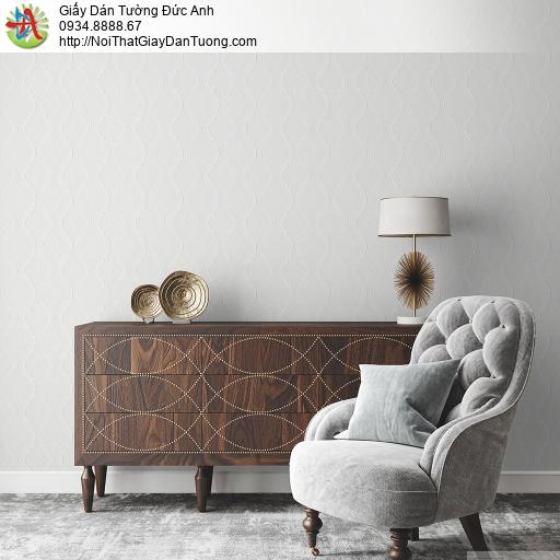 Albany 6814-1, Giấy dán tường họa tiết caro cổ điển màu trắng xám