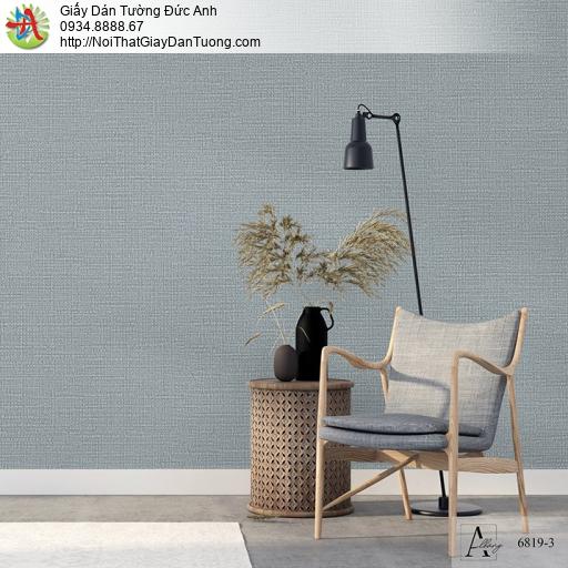 Albany 6819-3, Giấy dán tường kiểu gân hiện đại đơn giản màu xám xanh
