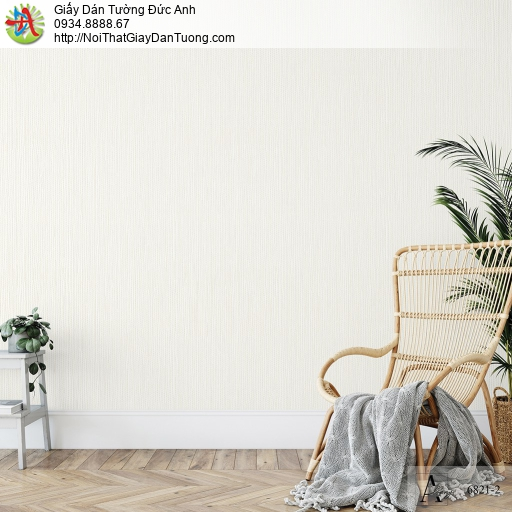 Albany 6821-2, Giấy dán tường đơn giản hiện đại một màu vàng kem