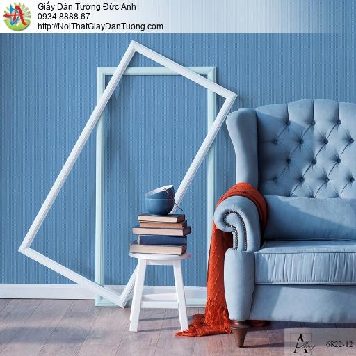 Albany 6822-12, Giấy dán tường một màu đơn giản, giấy dán tường màu xanh dương