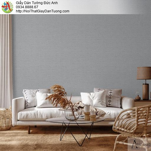 Albany 6823-4, Giấy dán tường hiện đại màu xám, họa tiết ca rô nhỏ