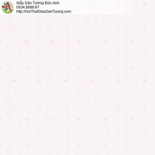 Albany 6829-2, Giấy dán tường chấm bi màu hồng đẹp