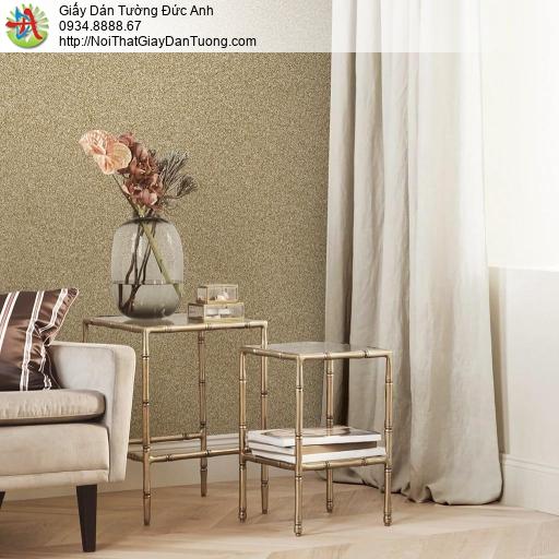 Giấy dán tường giả bột đá màu nâu, giấy giả bột hạt cát màu nâu đất, Natural 87024-2