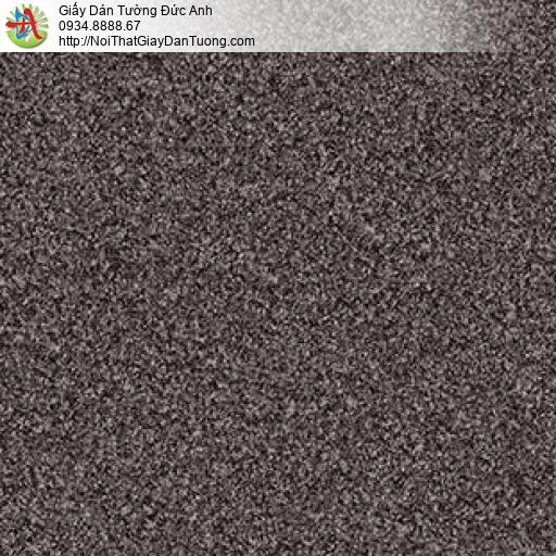 Giấy dán tường giả hạt cát màu đen, giấy dạng bột đá màu nâu đậm, Natural 87024-5